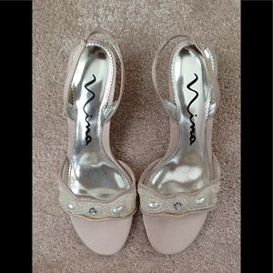 Ladies NINA sling back dress sandal.